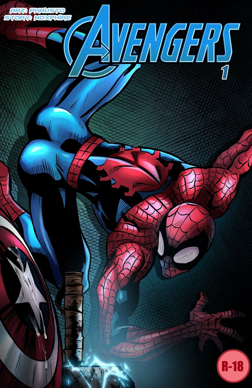 Avengers 1 gay furry comic