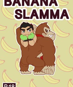 Banana Slamma gay furry comic