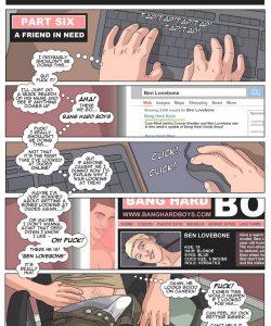 Bang Hard Ben 6 - A Friend In Need 001 and Gay furries comics