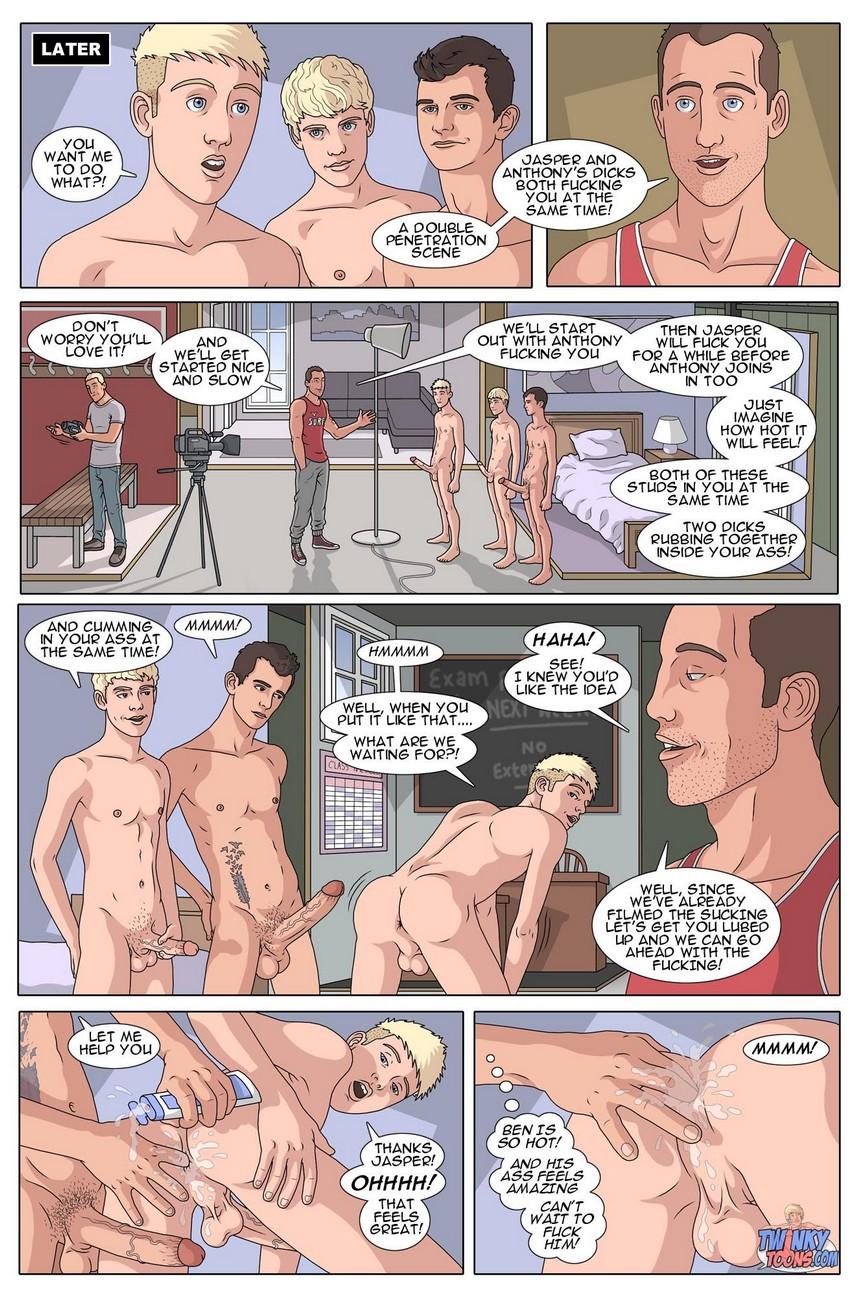 Bang Hard Ben 8 – It Takes Two gay furry comic