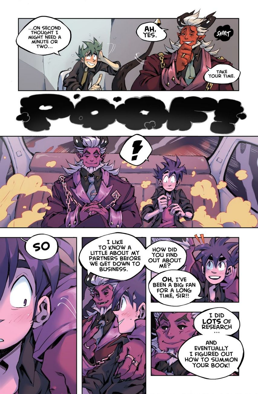 Baron's Black Book gay furry comic