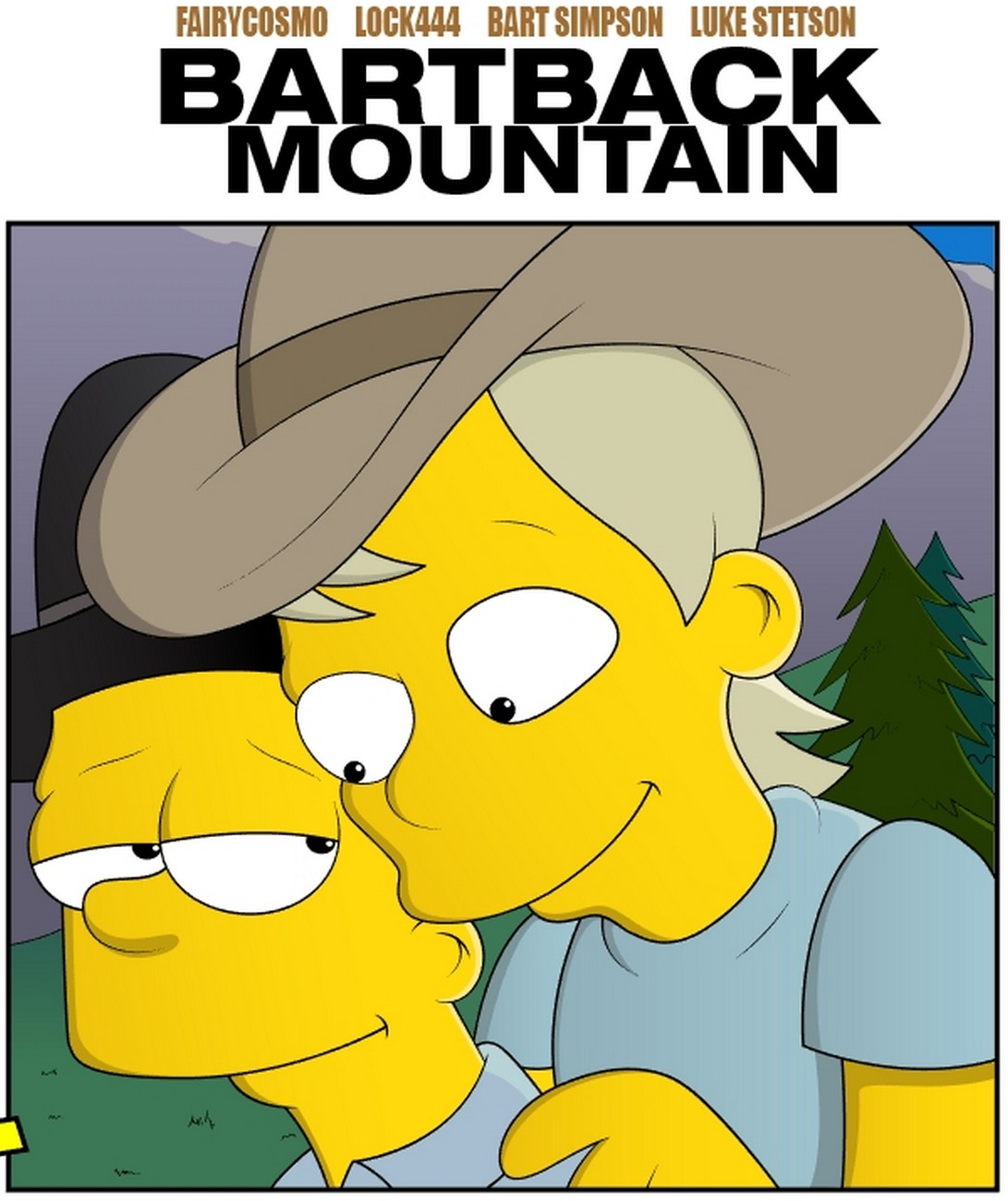 Bartback Mountain gay furry comic