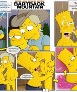 Bartback Mountain 002 and Gay furries comics