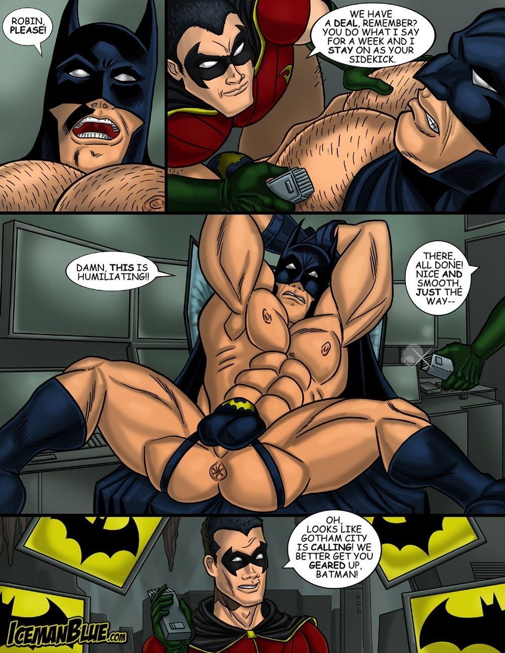 Batman gay furries