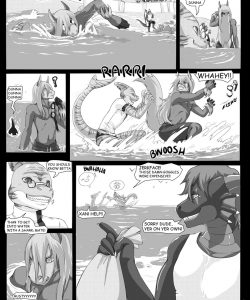 Beach Daze 002 and Gay furries comics