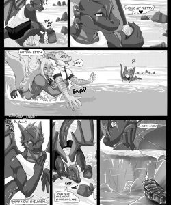 Beach Daze 003 and Gay furries comics