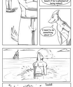Beach Rules 003 and Gay furries comics