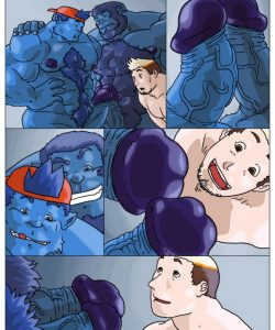 Beast N Boy 019 and Gay furries comics