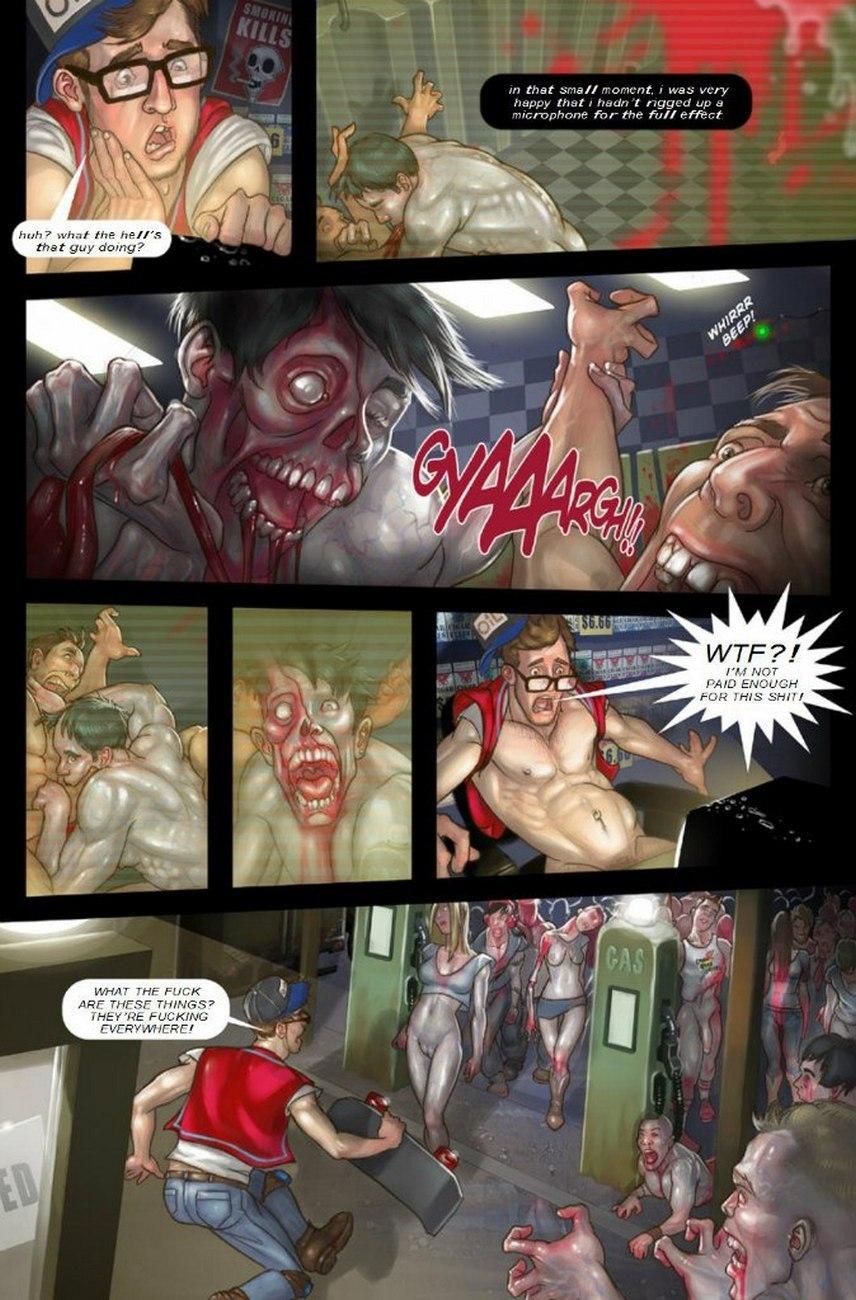 Beautiful Dead 1 gay furry comic