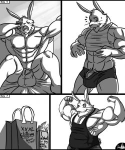 Big Boy Bunny 003 and Gay furries comics