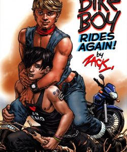 Bike Boy Rides Again 001 Gay Furry Comics
