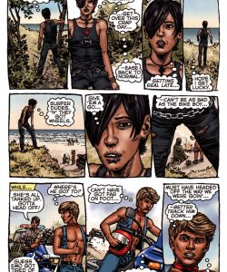 Bike Boy Rides Again 012 and Gay furries comics