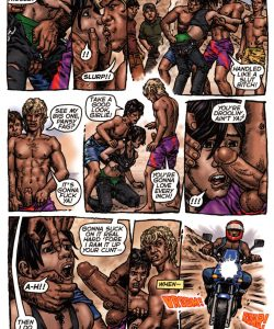 Bike Boy Rides Again 014 and Gay furries comics