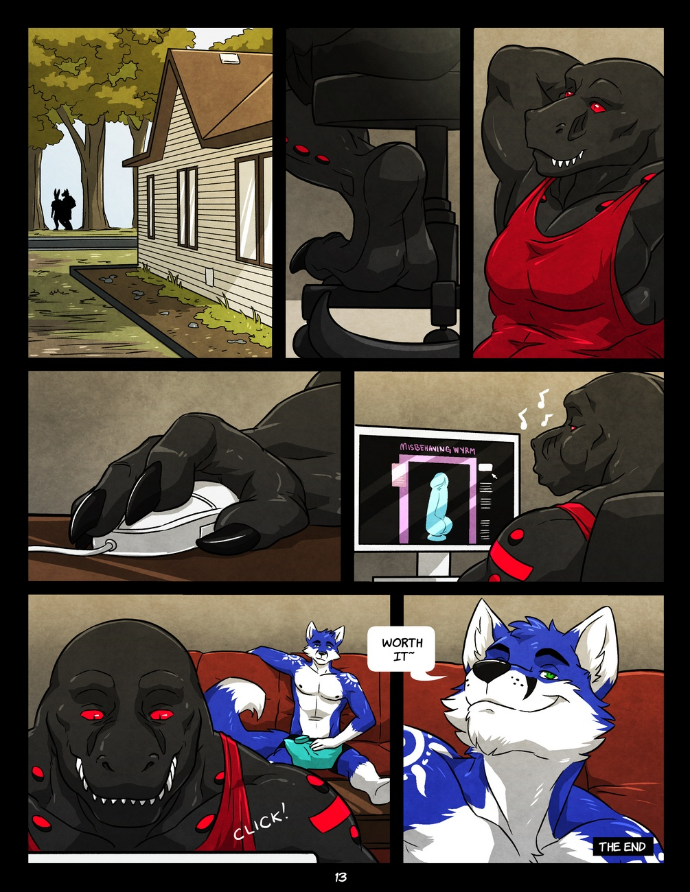 Black And Blue 1 gay furries