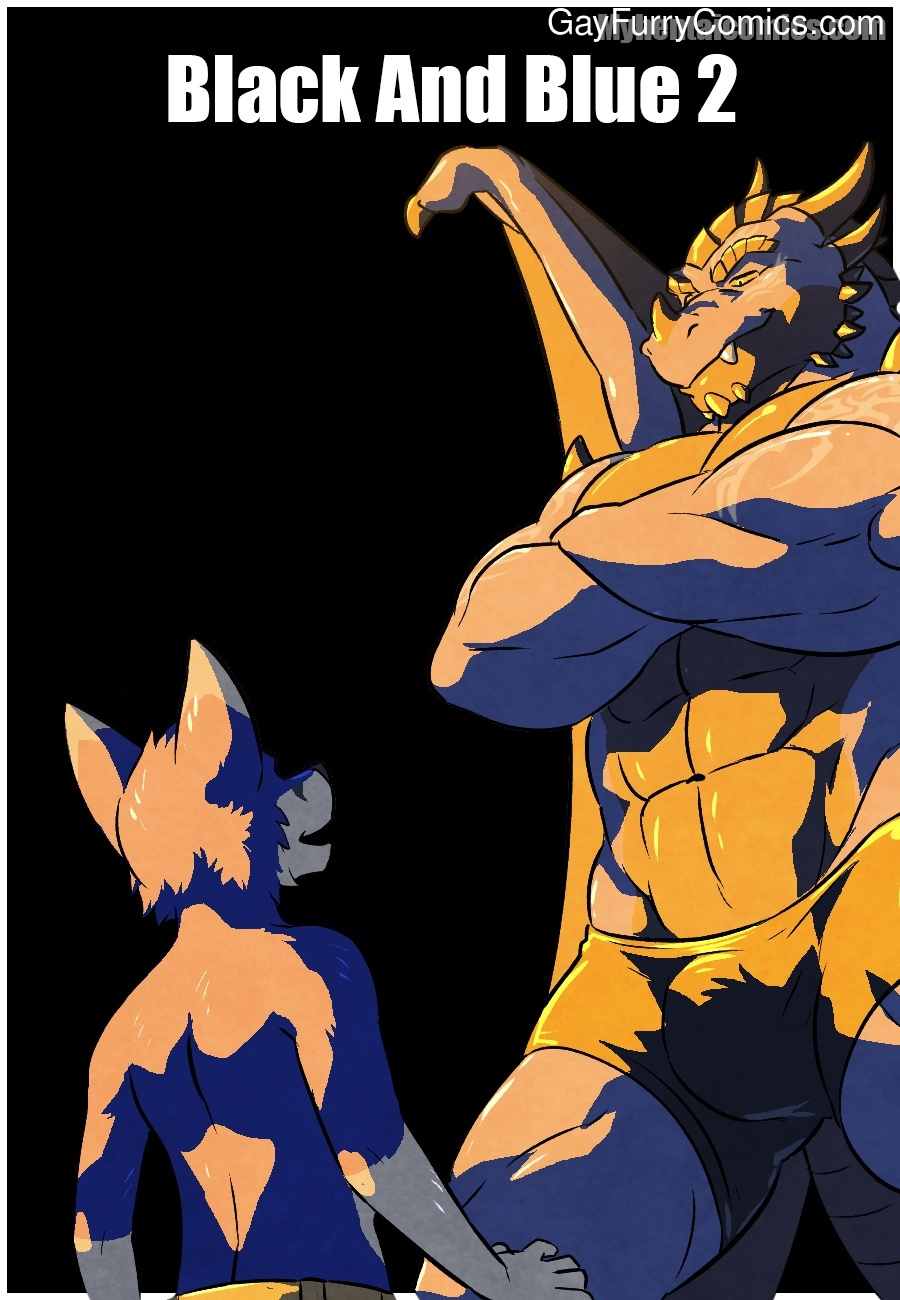 Black And Blue 2 gay furries
