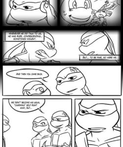 Black And Blue 7 009 and Gay furries comics