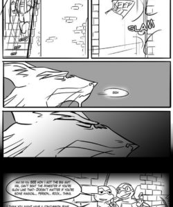 Black And Blue 7 012 and Gay furries comics