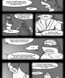 Black And Blue 7 017 and Gay furries comics