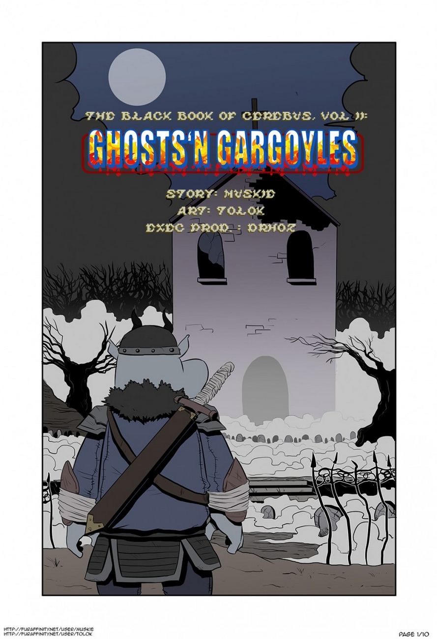 Black Book Of Cerebus 2 – Ghosts N Gargoyles gay furry comic