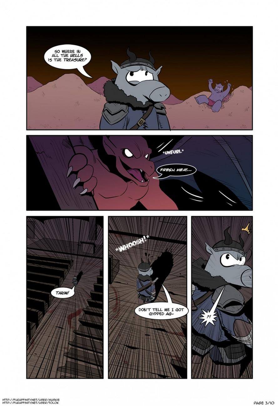 Black Book Of Cerebus 2 – Ghosts N Gargoyles gay furry comic