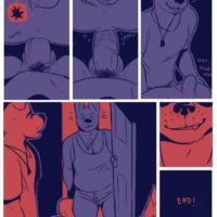 Blue Party gay furry comic