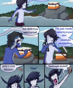 Broback Mountain 009 and Gay furries comics