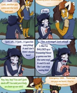 Broback Mountain 074 and Gay furries comics