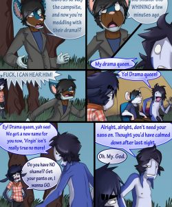 Broback Mountain 076 and Gay furries comics