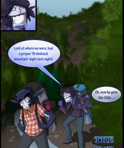 Broback Mountain 077 and Gay furries comics