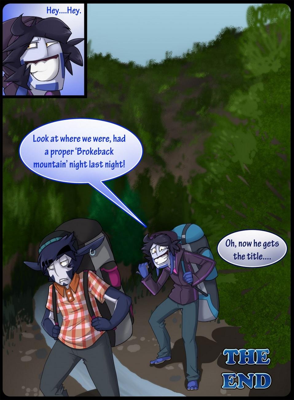 Broback Mountain gay furry comic