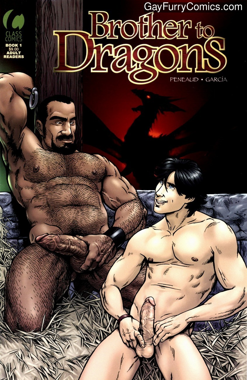 Brothers To Dragons 1 gay furry comic