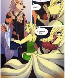Burning Curiosity 015 and Gay furries comics