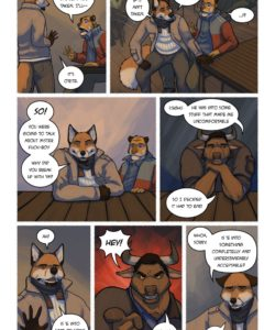 Call Me Daddy 006 and Gay furries comics
