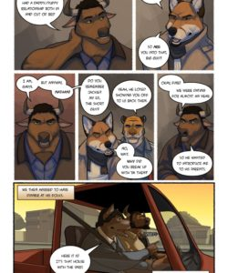 Call Me Daddy 007 and Gay furries comics