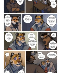 Call Me Daddy 019 and Gay furries comics