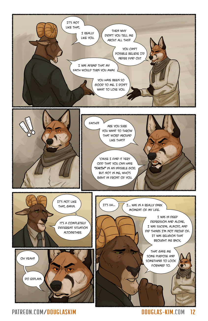 Call Me Father gay furry comic