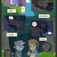 Cam Friends 1 gay furry comic