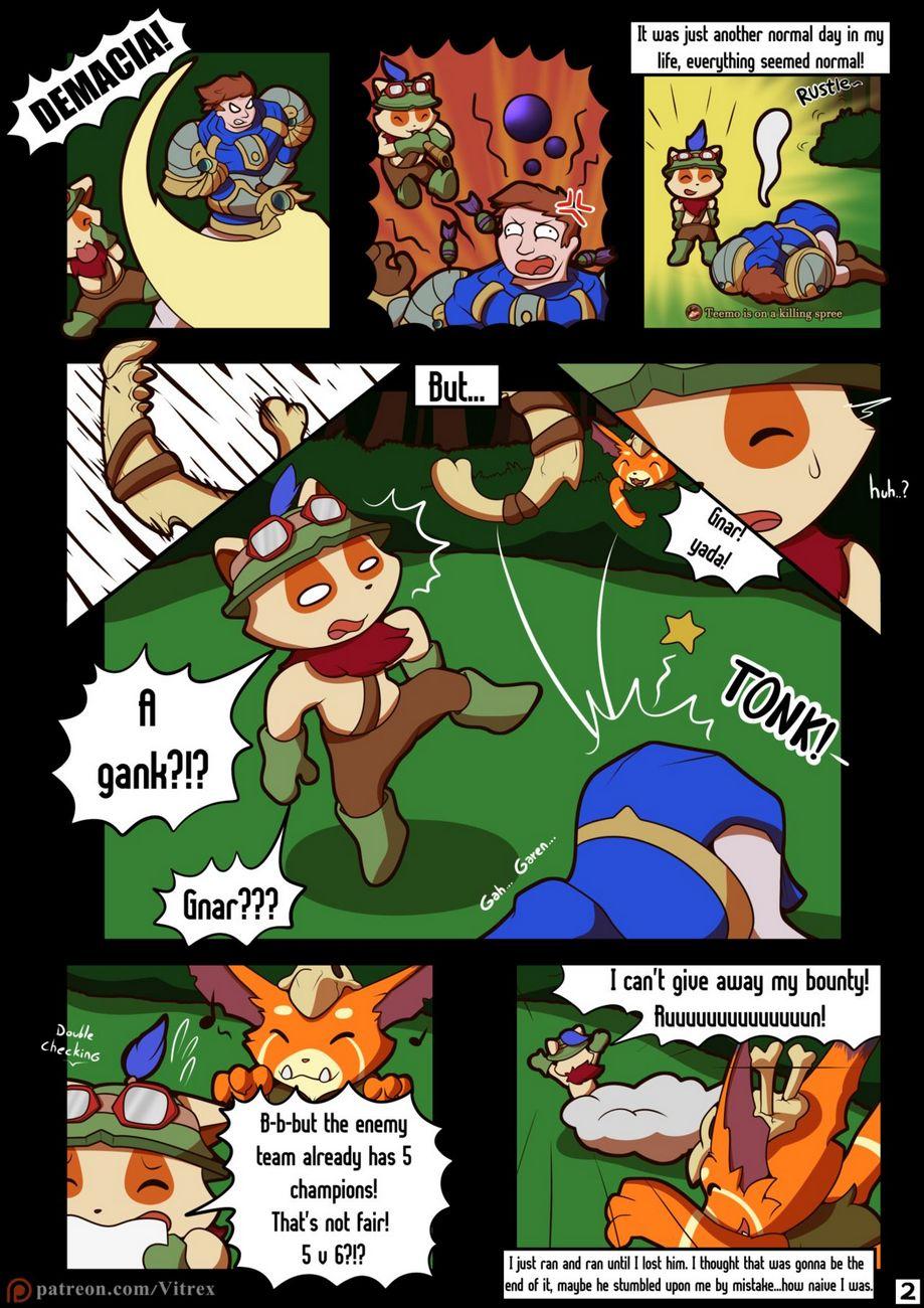 Can't Catch A Break gay furry comic