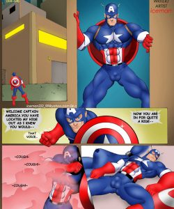Captain America 002 and Gay furries comics