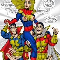 Captain Marvel V Captain Marvel gay furry comic