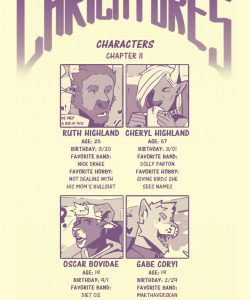 Caricatures 2 002 and Gay furries comics