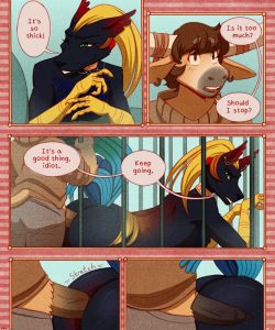 Carnival 012 and Gay furries comics