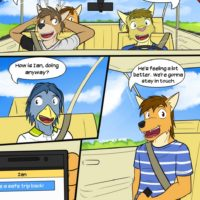 Catch Of The Day gay furry comic