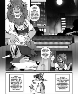 Chacal El Chacal 014 and Gay furries comics