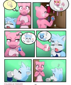 Change Of Rules 008 and Gay furries comics