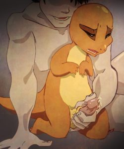 Charmander's Evolution Rape 008 and Gay furries comics