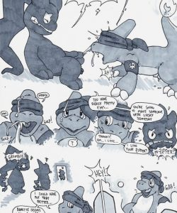 Charmeleon Ghost 013 and Gay furries comics