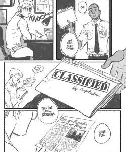 Classified gay furry comic