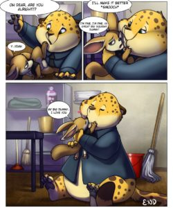 Clawhauser's Lunch Break 006 and Gay furries comics