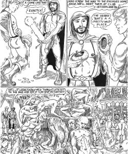 Come Wars 006 and Gay furries comics